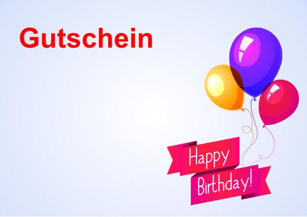 Geburtstag karte pdf